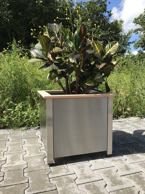 RVS plantenbak