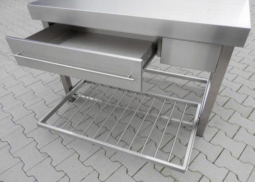 keukenblok RVS